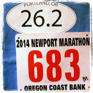 Newport Marathon Bib Photo Credit: Amber Corsen