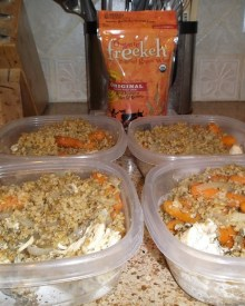 New Meal Prep Grains: Freekeh Review & Giveaway!
