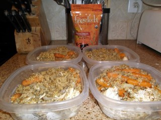Freekeh Foods: Chicken and vegetables with a twist
