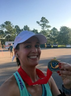 Space City 10 Miler - Finisher! I Did It!