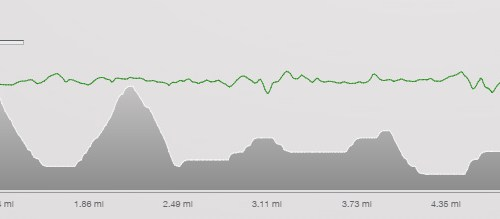 Long run elevation chart - half marathon training cycle
