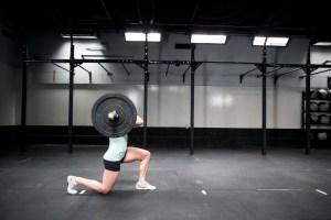 Front Rack Lunge, CrossFit.com
