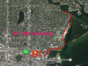 St. Petersburg, Florida running