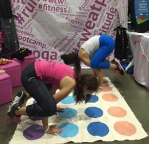 Fitness at IDEA World: Yoga!