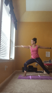 Warrior II Yoga Poses for Runners