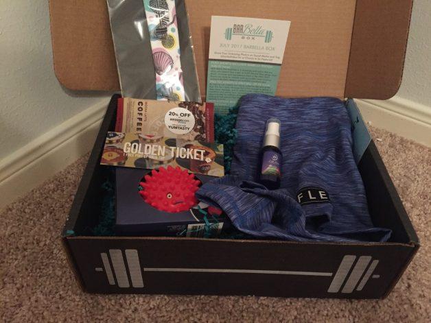 July Barbella Box Review