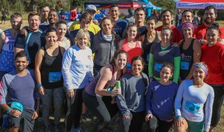 """Savage Race Houston: Team Clear Lake CrossFit's """"before"""" picture"""