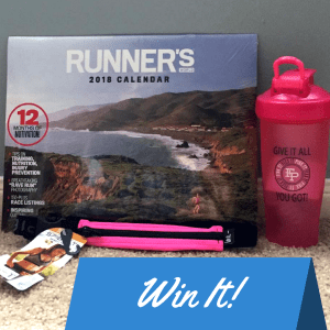 Win gifts for runners!