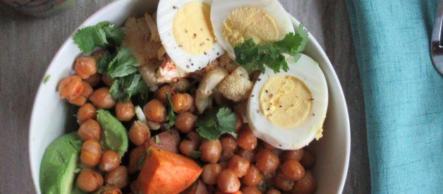 Ultimate veggie bowl recipe