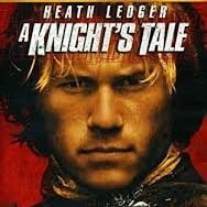 Health ledger in a knights tale with Queen - We will rock you