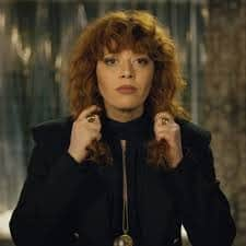 red headed actress in russian doll on netflix