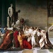 Julius caesar stabbed on the ideas of march