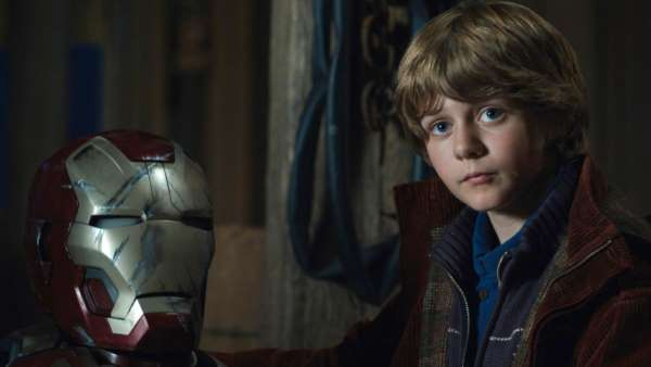 Ty Simpkins as Harley Keener from iron man 3