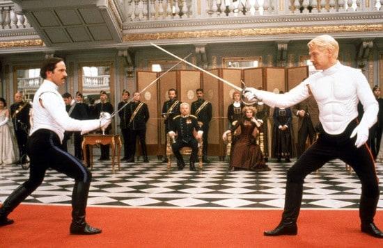 Hamlet fighting scene