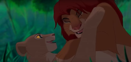simba and nala in lion king