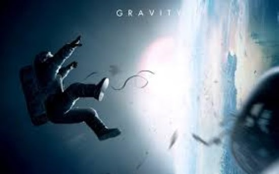 gravity with sandra bullock and george clooney