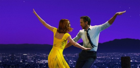 emma stone and ryan gosling dance in la la land