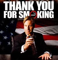 thank you for not smoking movie poster