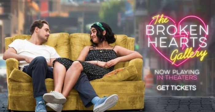 New Wide Release! Movie Review: Broken Hearts Gallery