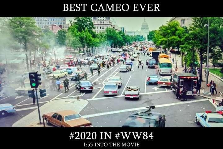 best cameo ever WW1984 2020