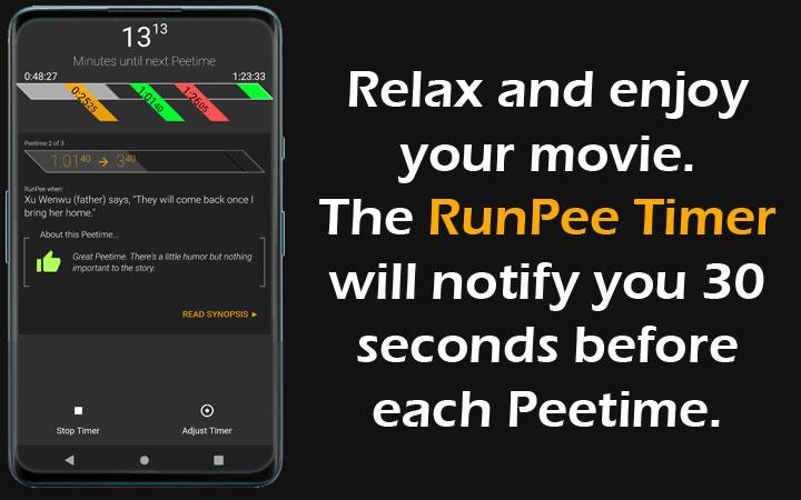 RunPee Timer