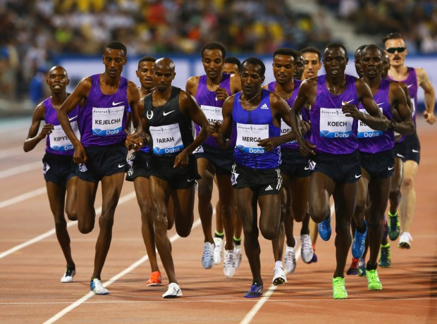 Mo has met all these names before at the Doha Diamond League