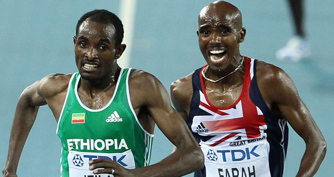 Farah lost out to Jeilan four years ago