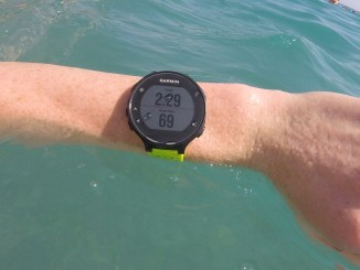 Garmin forerunner 235 swimming