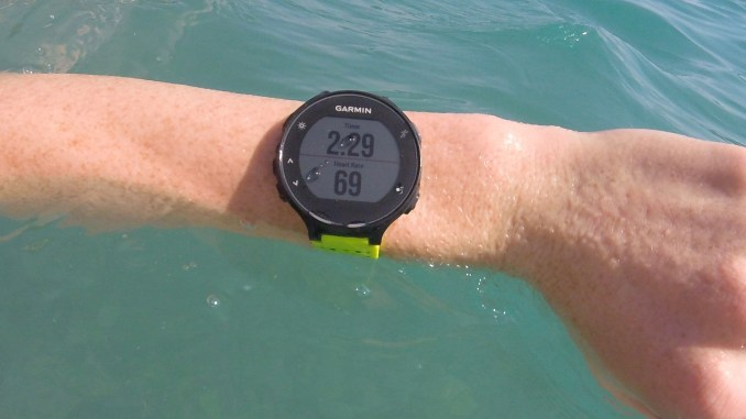 Swimming with the Garmin Forerunner 235 - Run Reporter