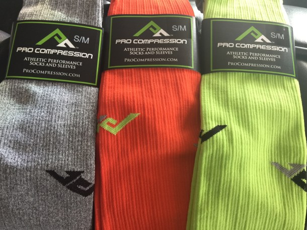 Pro Compression marathon grab bags - gender neutral