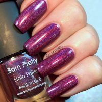 Born Pretty Pink Holo Swatch/Review