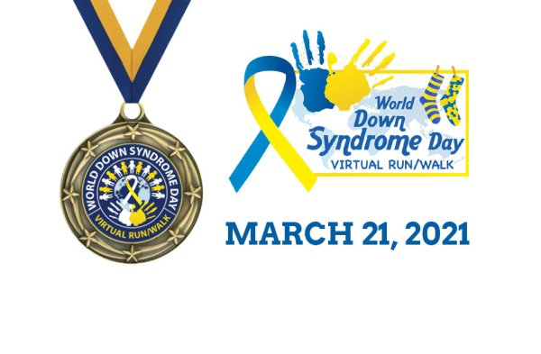 Down Syndrome Day Virtual Run/Walk
