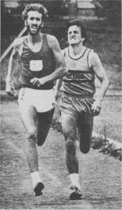 Chip Boehm beating Bob Bickel to the line in 1978.
