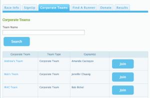 Corporate Teams