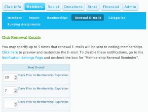 Membership Renewal Notice