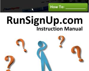 RunSignUp Manual
