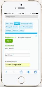 RunSignUp Mobile 2.0
