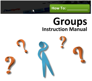 How To Groups Manual