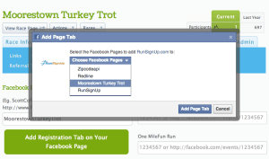 Select Facebook Page you Manage