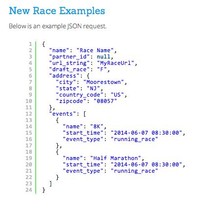 Create Race