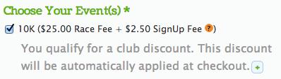 Discount Notice