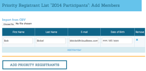 Add Preferred Participants
