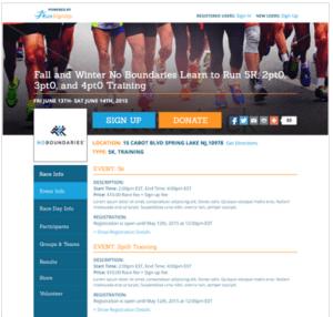 Race Website