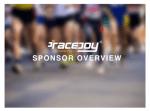 RaceJoy Sponsor Video Now Available