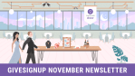GiveSignup November Newsletter