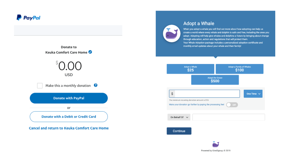 Paypal Donate Buttons Vs Givesignup Donation Forms Runsignup Blog