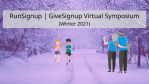 RunSignup | GiveSignup Virtual Symposium (Winter 2021)