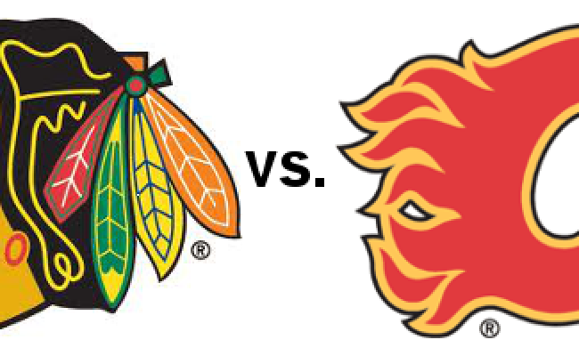 Game Day Preview Blackhawks Vs Calgary Flames Runs On