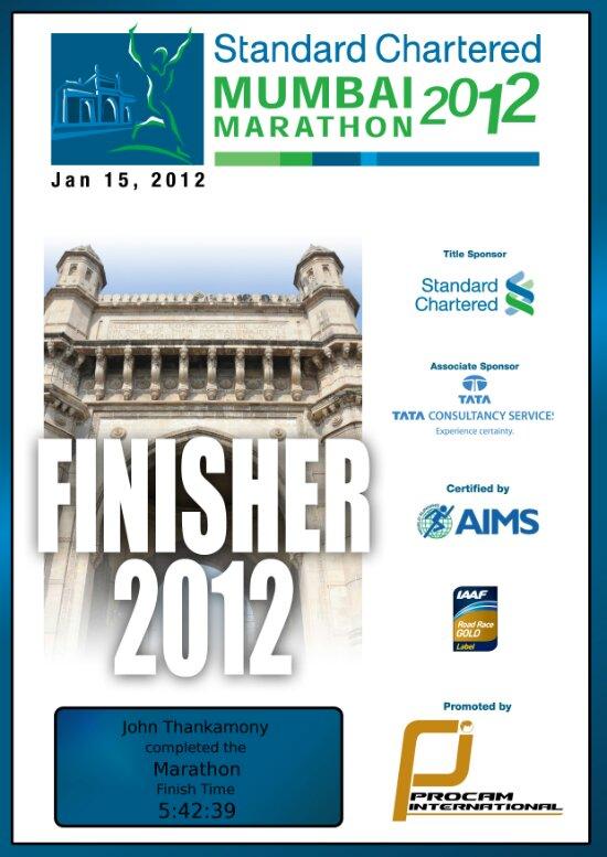 Marathon time again!