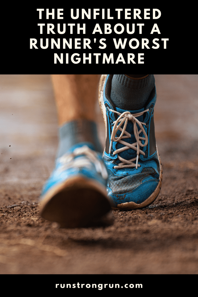 The unfirletered truth about a runner's worst nightmare